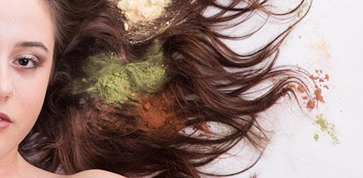 organic hair colouring services