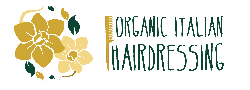 organic italian hairdressing logo small