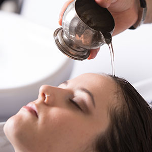 organic shampoo treatment
